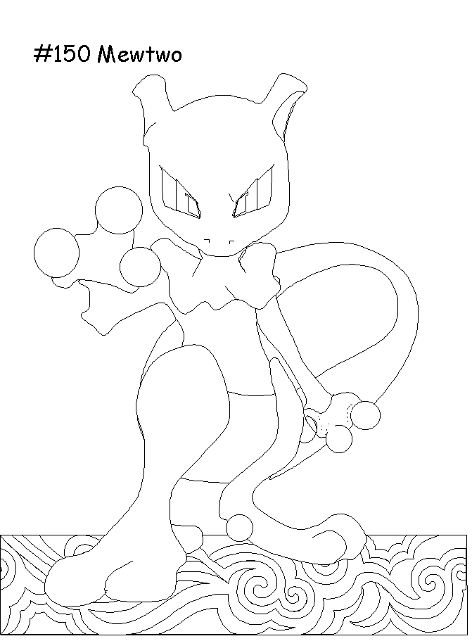 Pokemon Go #154209 (Video Games) - Printable coloring pages