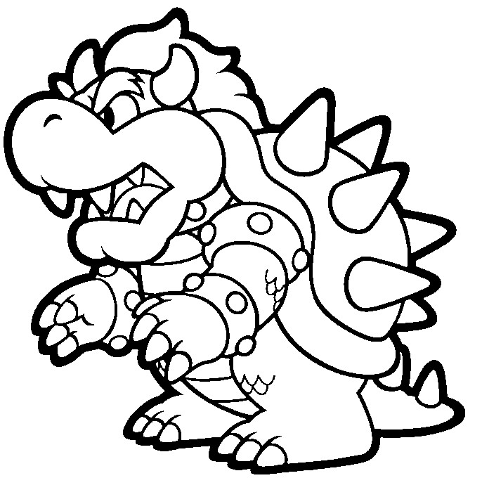 - Super Mario Bros #153570 (Video Games) – Printable Coloring Pages