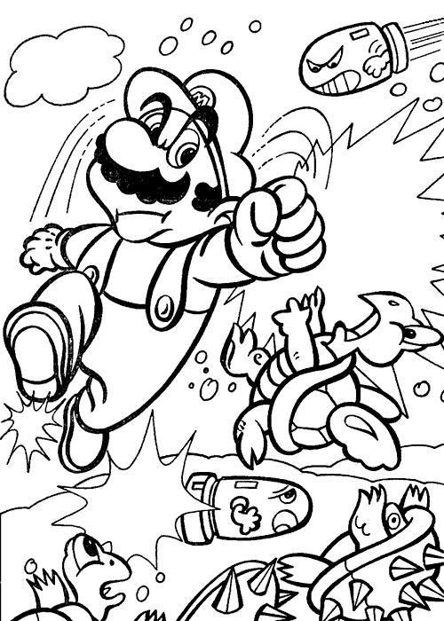 Super Mario Bros #153627 (Video Games) - Printable ...