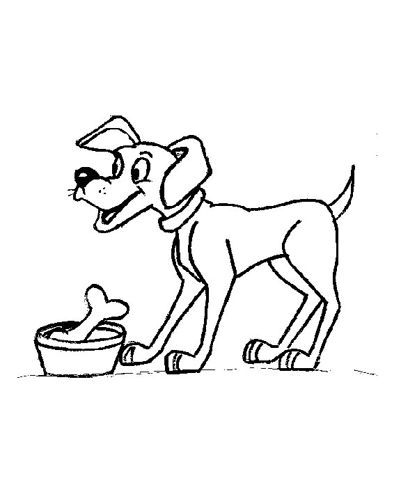 Coloring Page Dog Animals 67